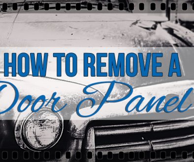 HOW TO REMOVE A DOOR PANEL