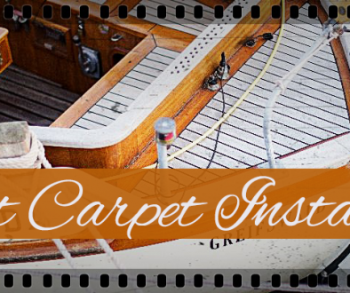 BOAT CARPET INSTALLATION